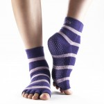 Yoga Socks keep your feet from sliding, no mat needed
